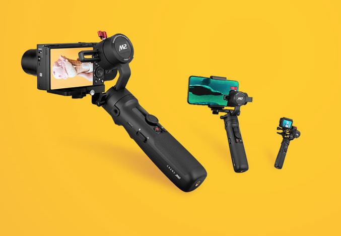 Zhiyun Crane M2 Is the Swiss Army Knife of Handheld Gimbals