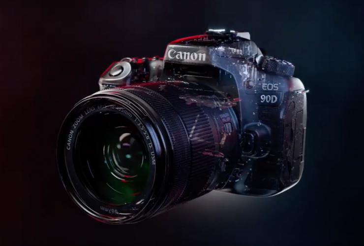 Leaked Promo Video Shows off Canon 90D Specs