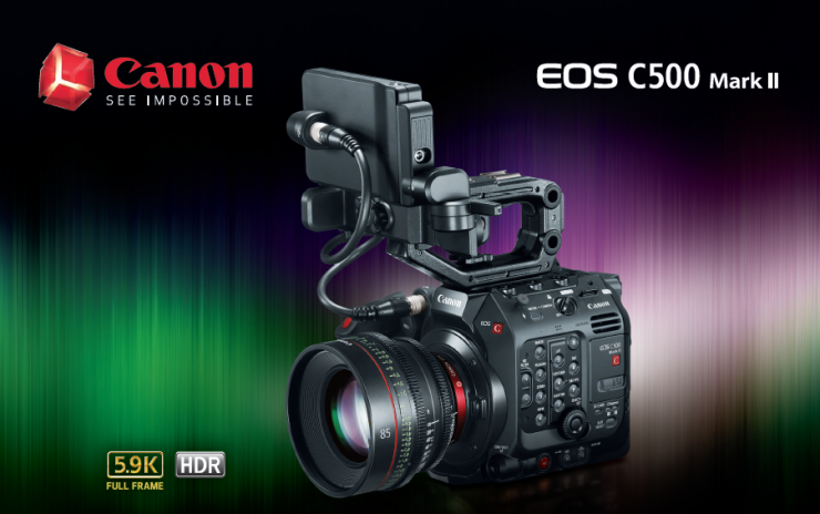The Canon C500 Mark II Is Here With A Modular Design