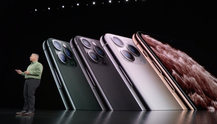 Phil Schiller introduces the iPhone 11 Pro