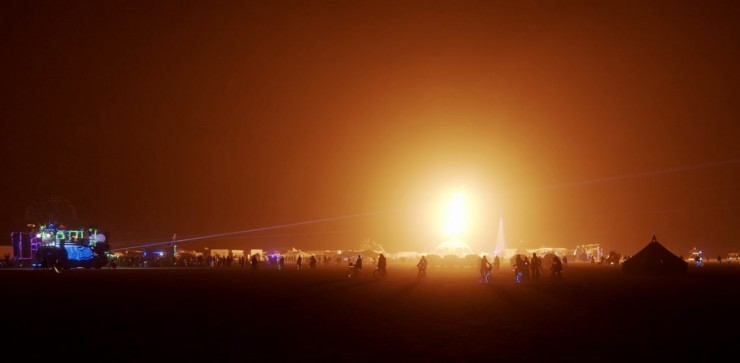 BMPCC6K Test Footage From Burning Man