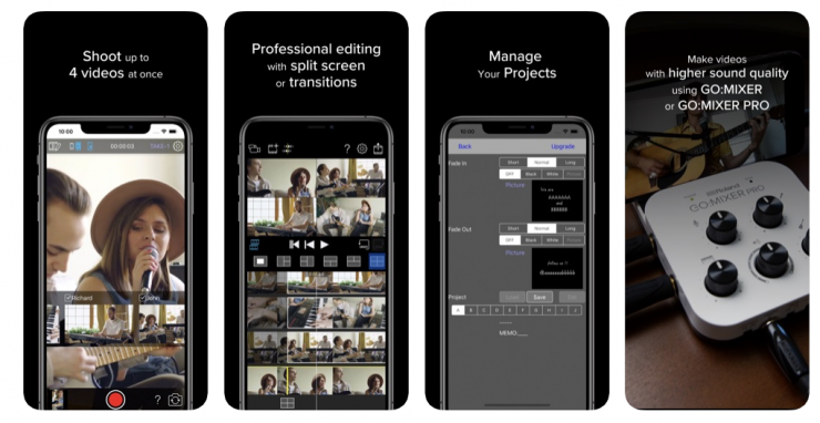 This Free iOS App Lets You Shoot, Edit, and Share Multi-Cam Videos