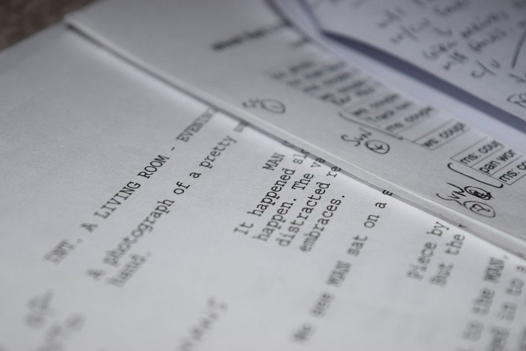 What's a Shooting Script and How Do You Create One? on screenplay format example, play review example, poem format example, novel format example, movie format example, css format example, news reporter script example, story format example, script font example, tv commercial script example, play format example, text format example, play script example, lined script example, radio script example, html format example, film script example, java format example, icd-10 format example, spec script example,