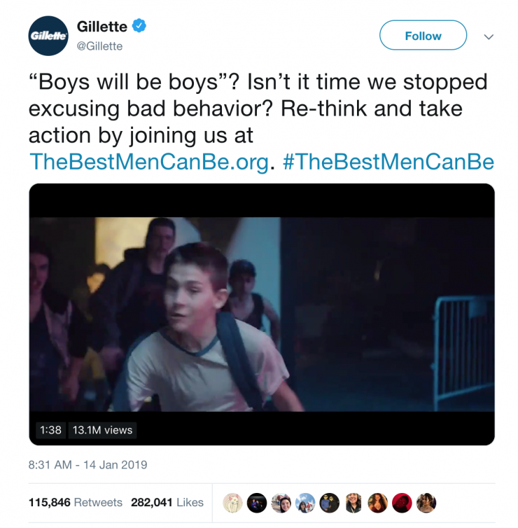 New 'Toxic Masculinity' Gillette Commercial Sparks Conversation