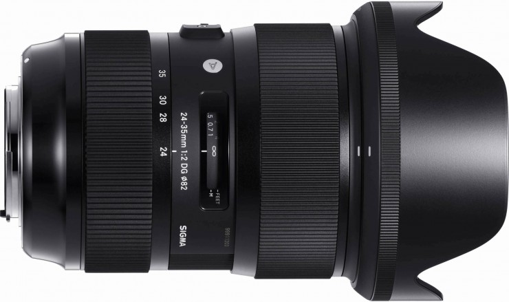 Sigma 24-35 f2 With Lens Hood