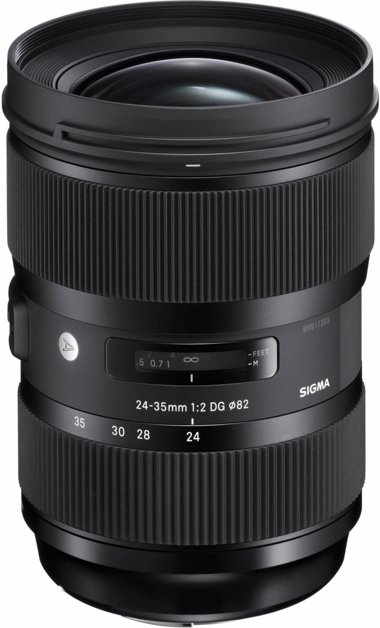 sigmas new 24 35mm f2 is the fastest full frame zoom lens ever made