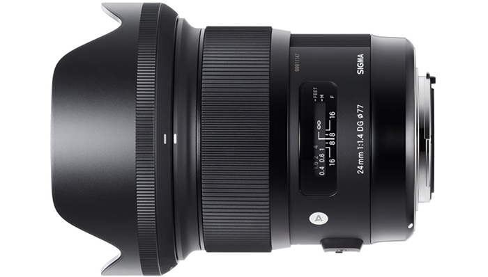 Sigma 24mm F1.4 Art Lens