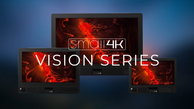 SmallHD looks to be branding their new Vision and Cine Monitors as Small4K
