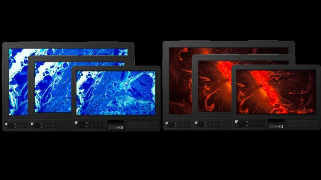 Small HD Cine and Vision series monitors come in three sizes