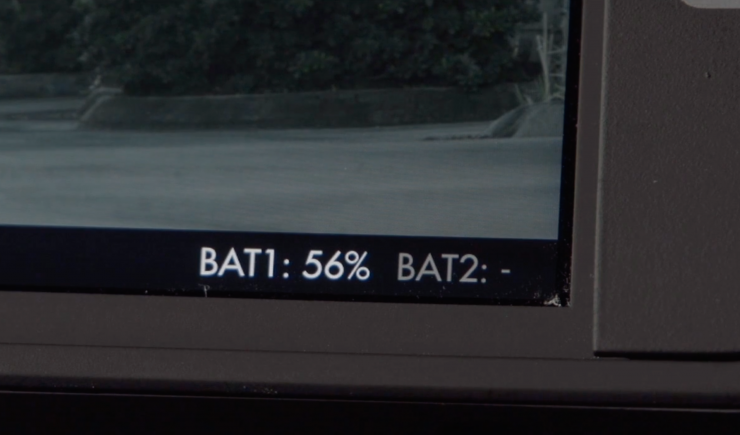 SmallHD 500 700 Canon Battery Indicator