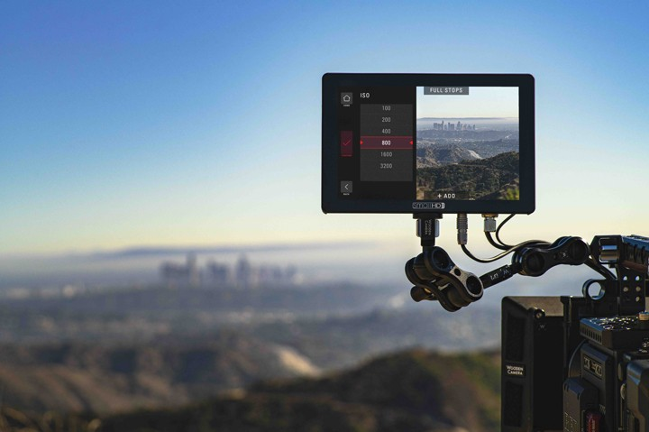 SmallHD DSMC2 Camera Control is now an option for the Cine 7 monitor