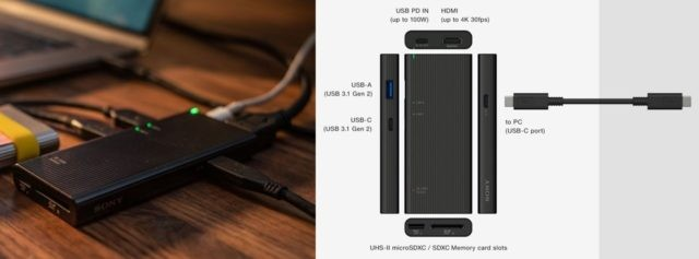 Sony's MR-S3 USB Hub Claims to be the World's Fastest in data transfer