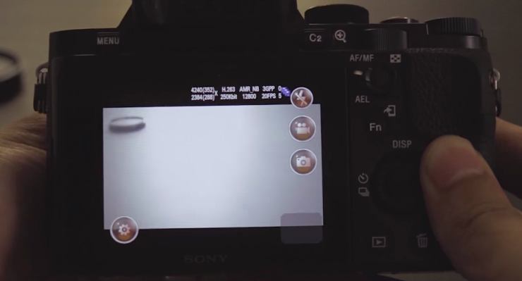 This Video Claims Someone Has Hacked the a7s to Shoot
