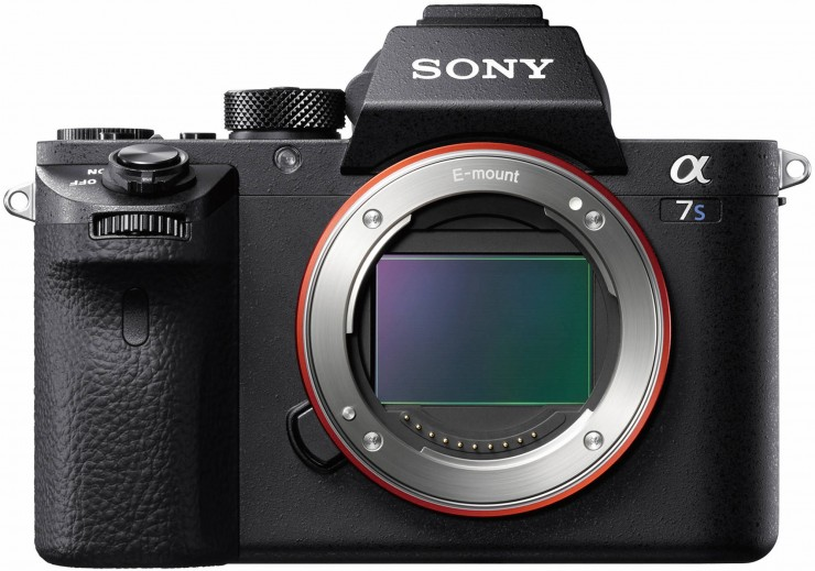 Sony a7S II Front