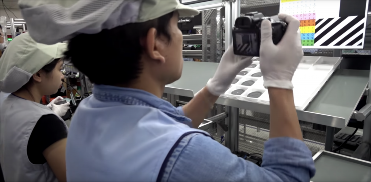 Sony a9 factory