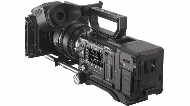 Sony AXS-R7 RAW Recorder on F55