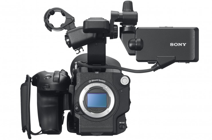 Sony FS5 Front No Lens