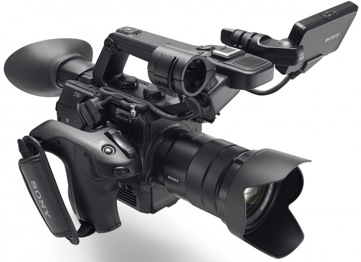Sony Announces the PXW-FS5, a Small 4K Cinema Camera with