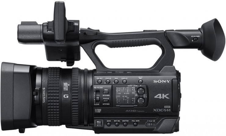 Sony PXW-Z150 Left Side