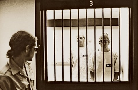 The Stanford Prison Experiment guard and prisoners