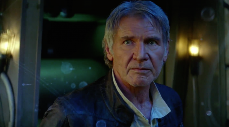 Star Wars Force Awakens - Harrison Ford - Han Solo