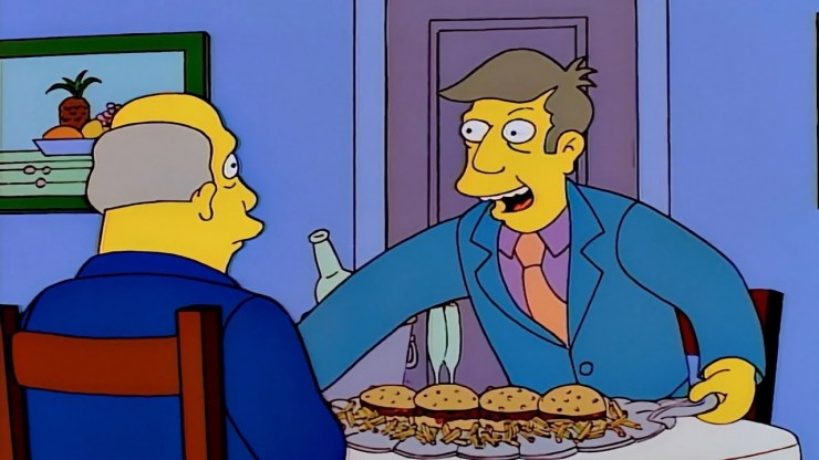 Situation comedy steamed hams