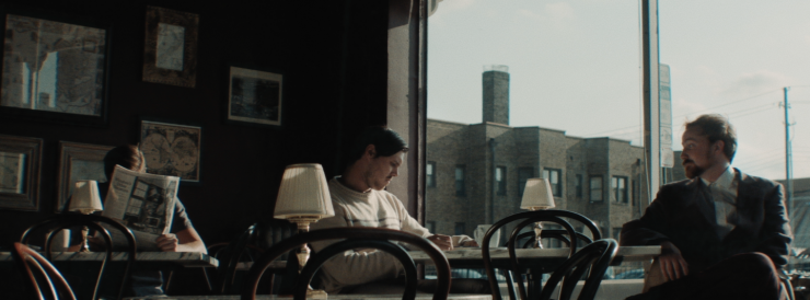 Diner Scene in 'Only the Righteous'