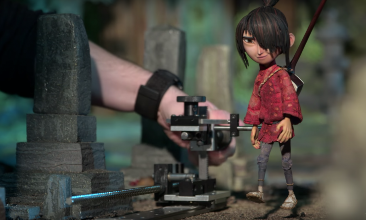 A Day In The Life Of A Laika Studios Animator - 3d printed stop motion animation bear stairs