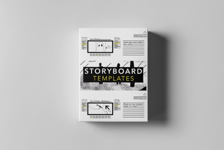 These Storyboard Templates Were Made by Filmmakers for