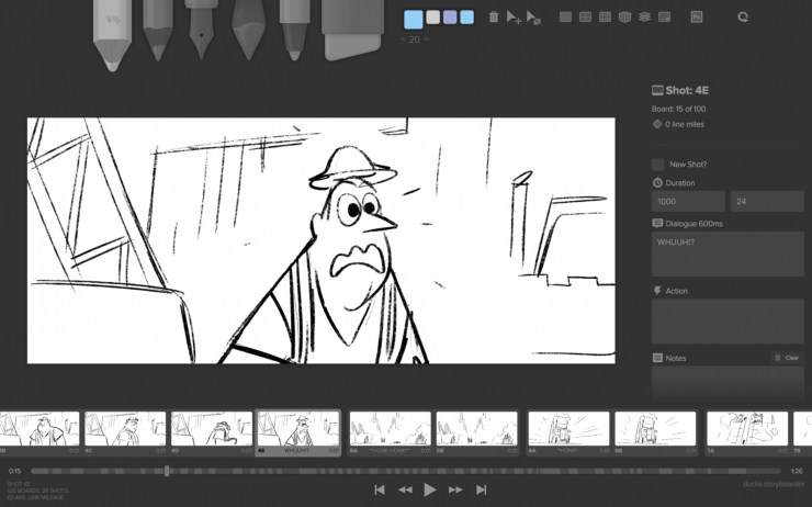 Download storyboarder for free and visualize your story now for Drawing websites no download
