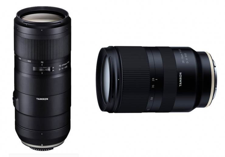 Tamron Unveils Two New Full Frame Zoom Lenses