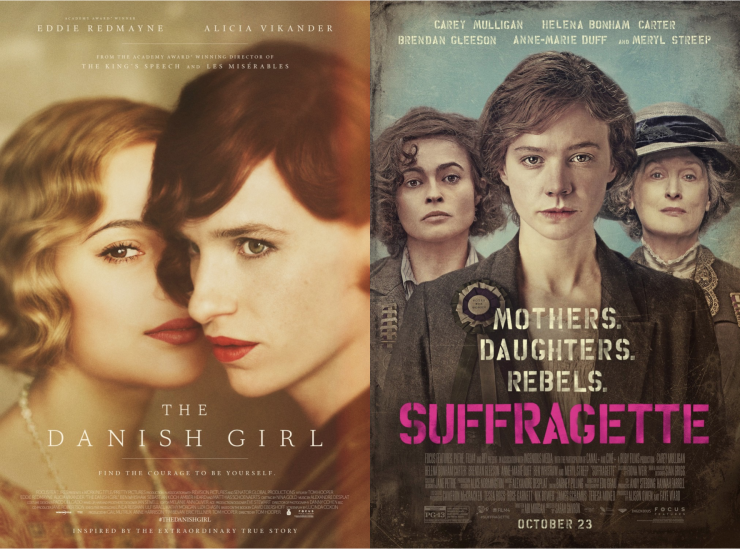 The Danish Girl, Suffragette Screenplays For Your Consideration