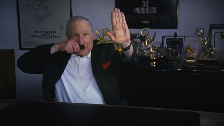 Mel Brooks in Ferne Pearlstein's The Last Laugh