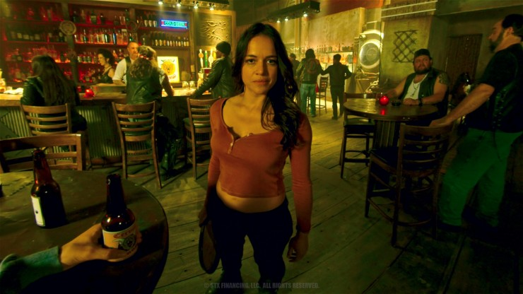 Michelle Rodriguez and Norman Reedus star in 'The Limit'