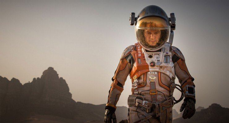 The Martian - Ridley Scott Matt Damon