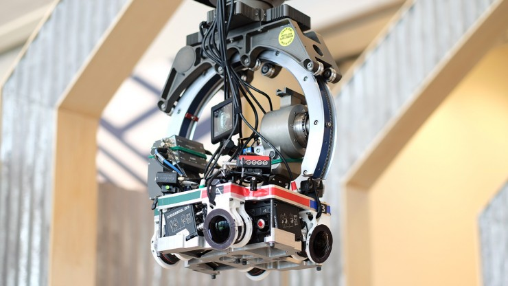 The Mill 360 Degree Camera Rig RED EPIC DRAGON