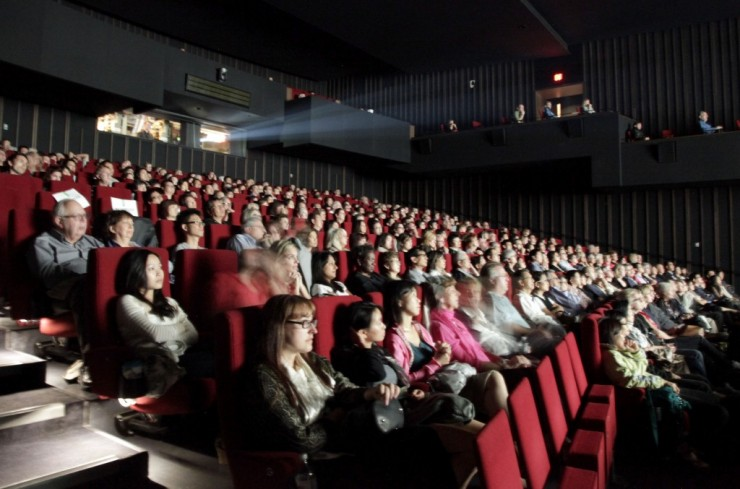 Modern Day Movie Theater No Film School Screening Room Sean Parker