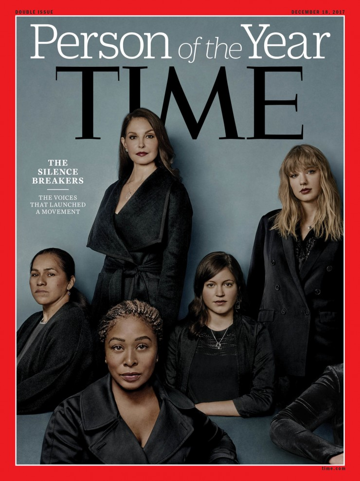 TIME Magazine Person of the Year: The Silence Breakers