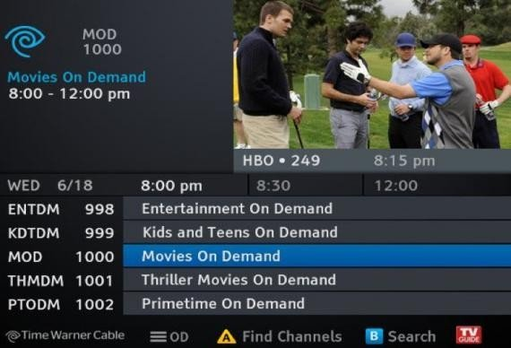 Cable boxes are screwing independent filmmakers google to the rescue time warner cable guide sciox Gallery
