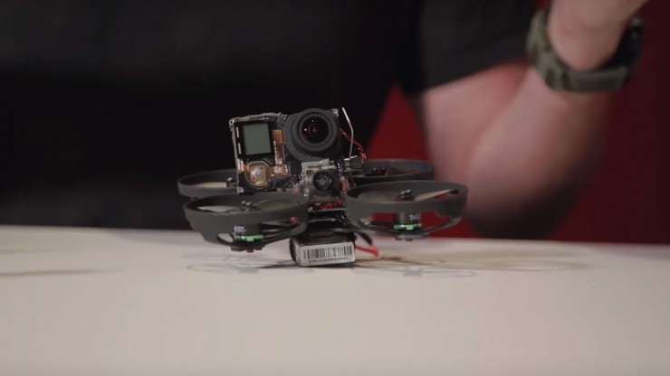 Watch: How to Build Your Own Tiny Quadcopter Drone for Interior Shoots