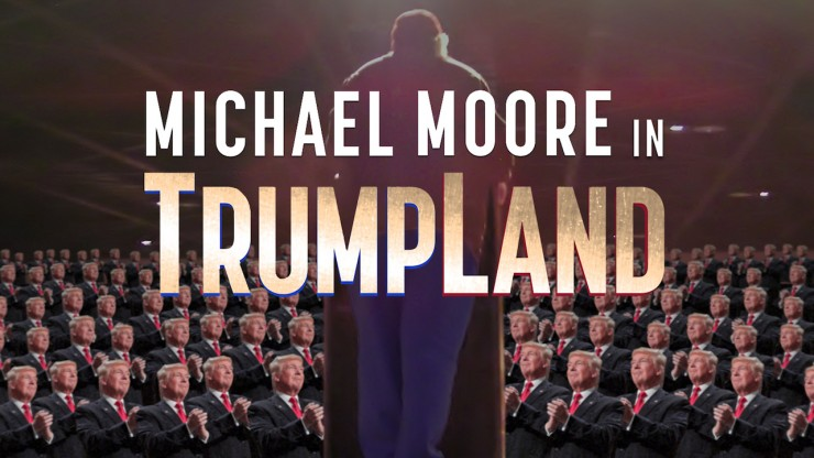 Michael Moores Huge Surprise Secret Doc About Trump Opening Today For Free