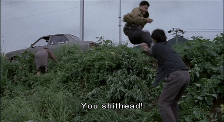 Flying Kick by Song Kang-ho in Memories of Murder was Improvised