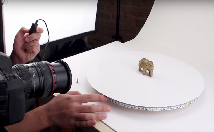 Video: Learn How to Build Your Own 360-Degree Turntable for
