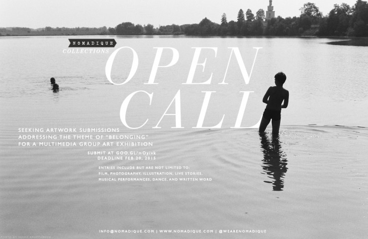 Nomadique Collections: Belonging. Open Call for Submissions