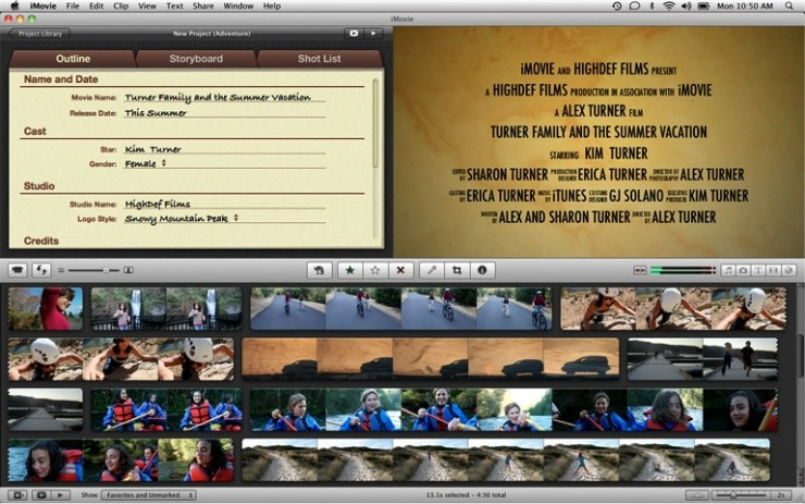 What Effect Could iMovie's New 'Movie Trailers' Feature Have