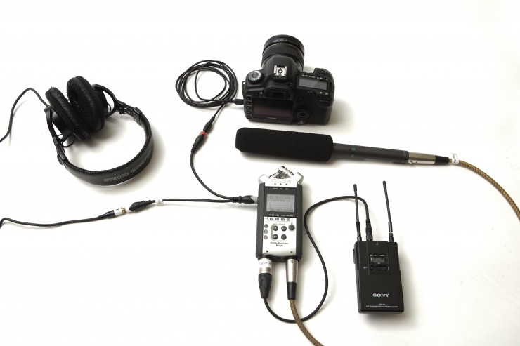 Audio Setup For Interview an Easy Dslr Audio Setup For a