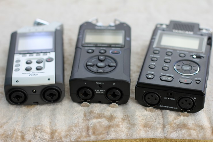 how to use zoom h4n audio recorder