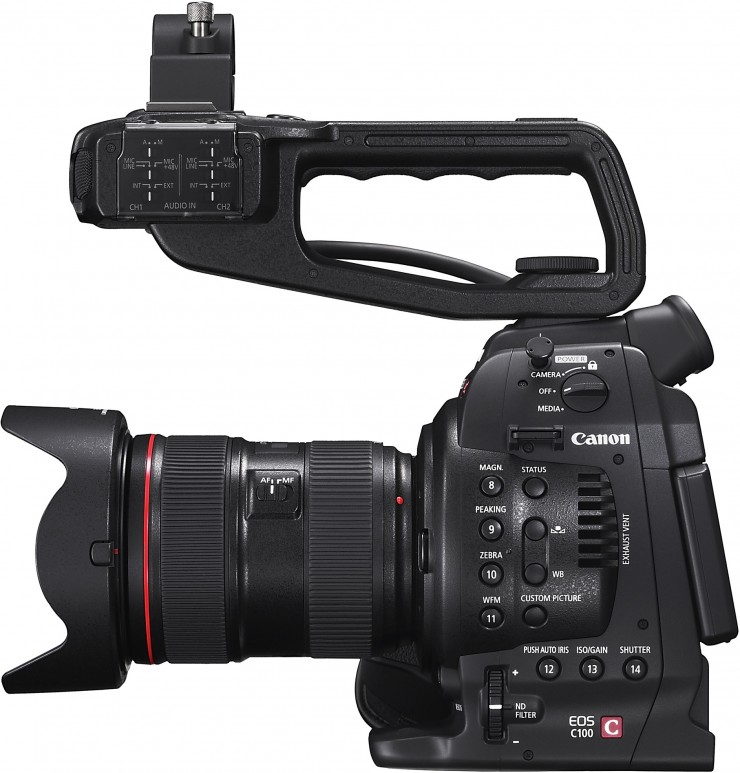 Is the Canon C100 Currently the Best Fully-Featured Budget