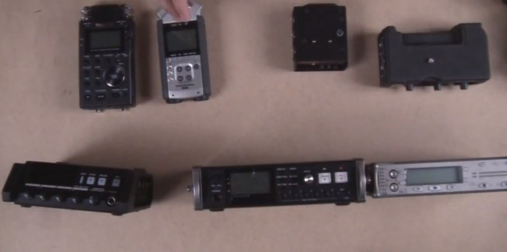 Audio Recorder/Preamp Shootout: Sound Devices, Zoom, Tascam