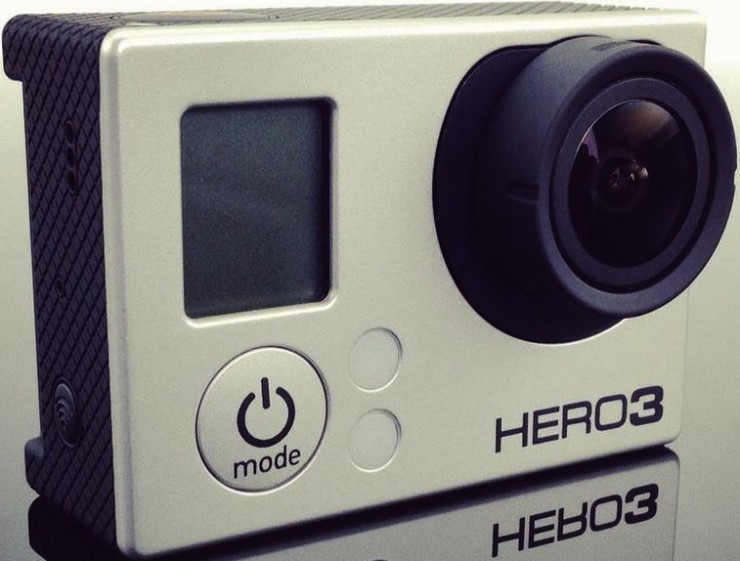 GoPro Goes 4K, HERO3 Camera with 1080p 60FPS Shipping Soon